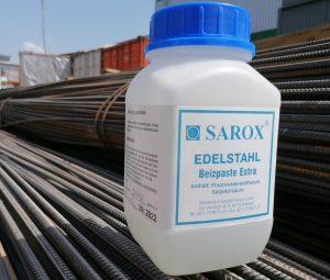Паста для травления нержавеющей стали Sarox (в банках по 2 кг) 1